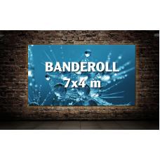 Banderoll 7x4 meter - Komplett!