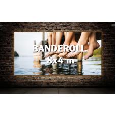 Banderoll 8x4 meter - Komplett!