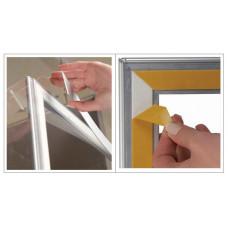 Snäppram för fönster & glas - A4