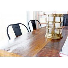 Konferensbord / matbord i recyclat trä