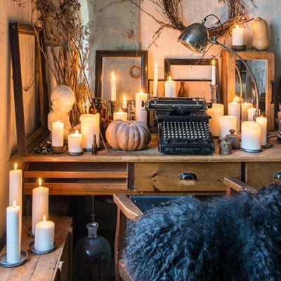Dean Silver Large - bords-/skrivbordslampa
