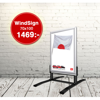 Wind Sign Classic 70x100
