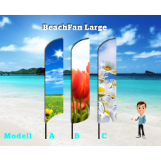 BeachFan Large - 4-pack