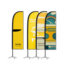 Beachflagga ECO Small - 2-pack .Strandflagga