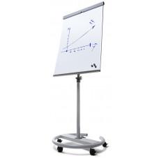 Anteckningstavla / Whiteboard 68x100 cm med hjul