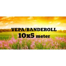 Banderoll 10x5 meter - Komplett!