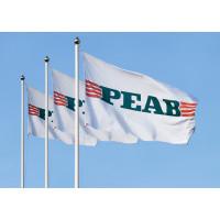 Flagga för stång 240x150, egen design - 25-pack
